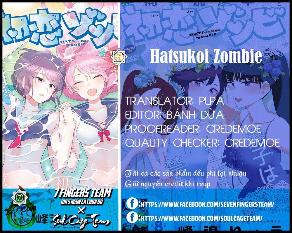 Hatsukoi Zombie Chapter 116 - Trang 2