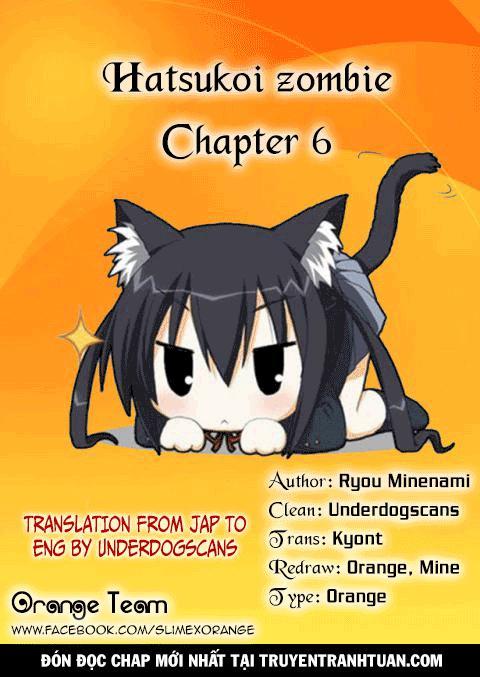 Hatsukoi Zombie Chapter 6 - Trang 20