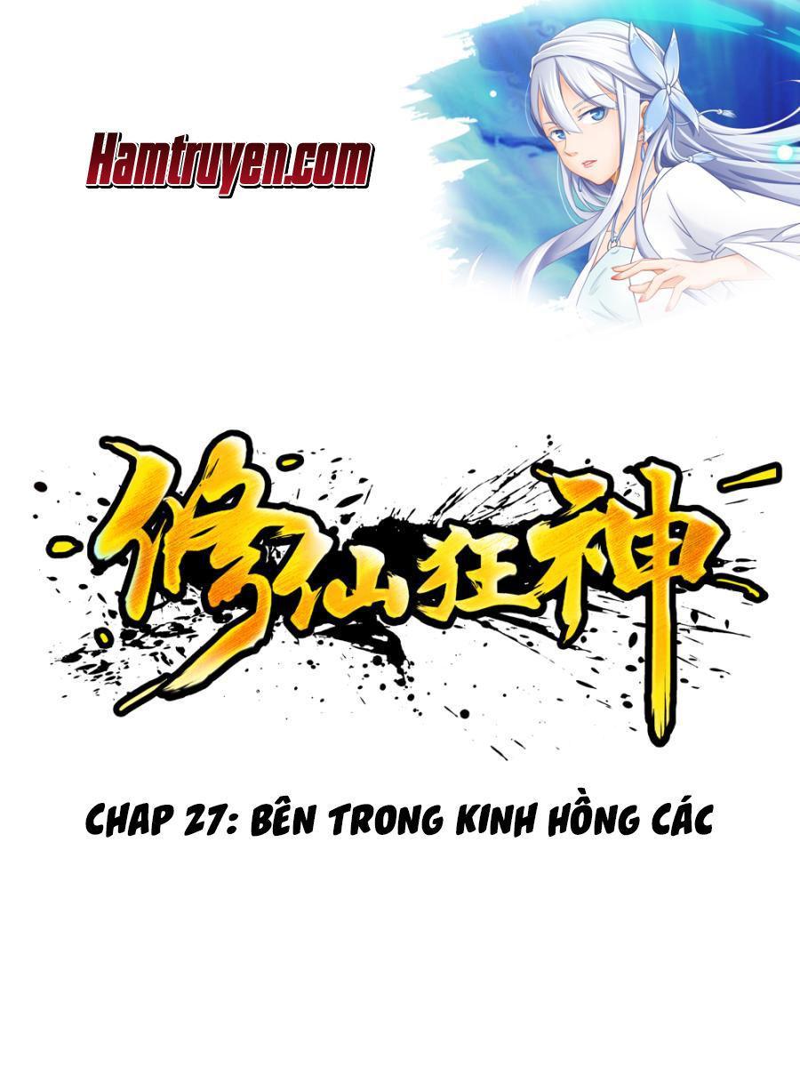 Tu Tiên Cuồng Thần Chap 27 . Next Chap Chap 28
