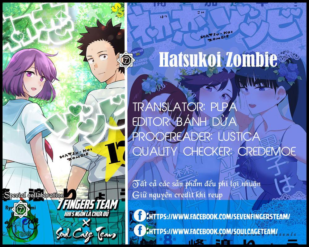 Hatsukoi Zombie Chapter 112 - Trang 2