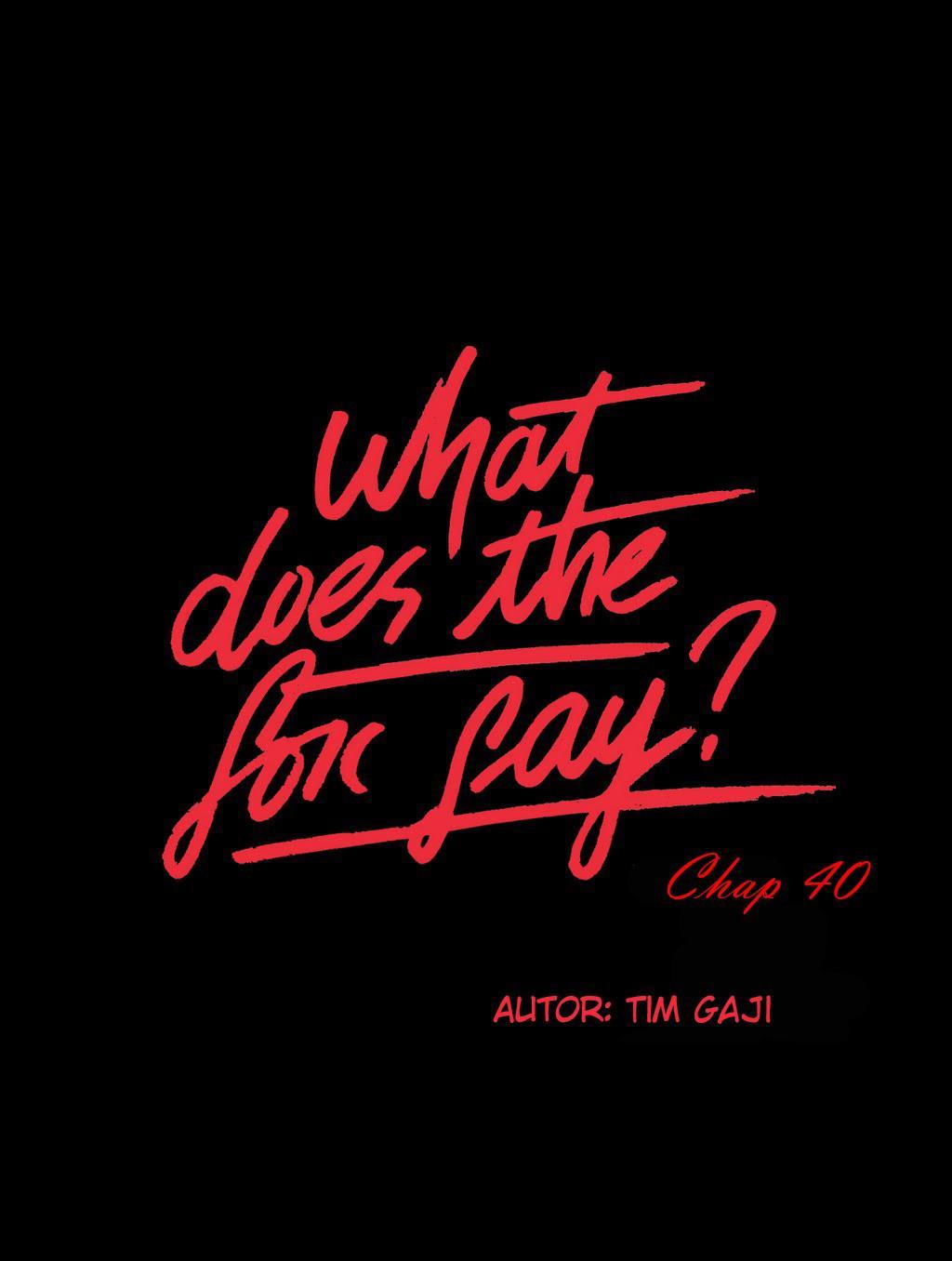 Con Cáo Nói Gì? Chapter 40 - Trang 2