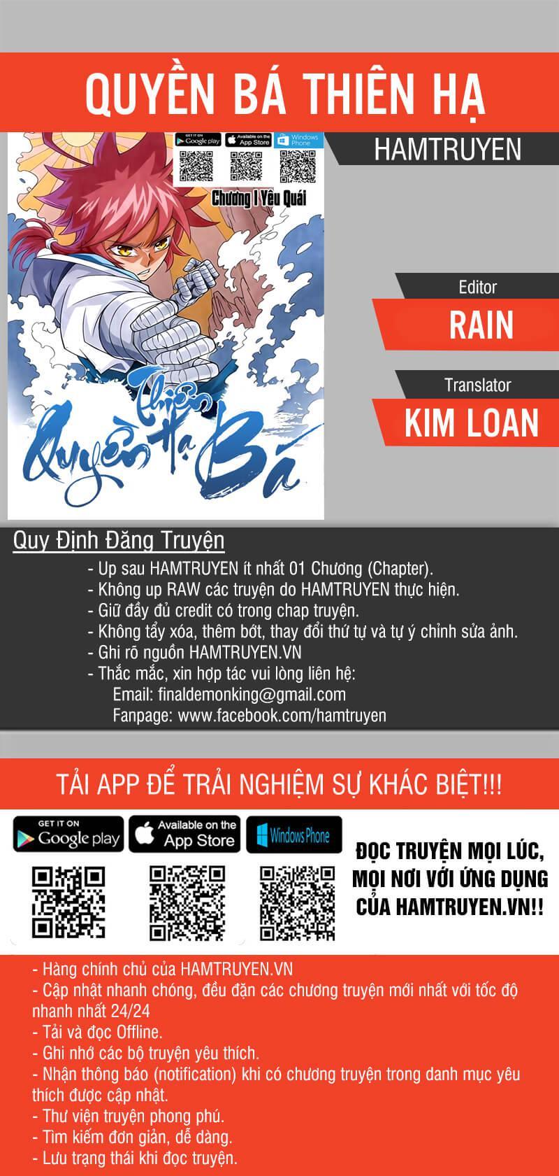Quyền Bá Thiên Hạ Chapter 6