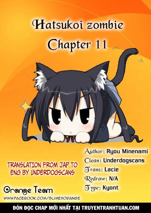 Hatsukoi Zombie Chapter 11 - Trang 19