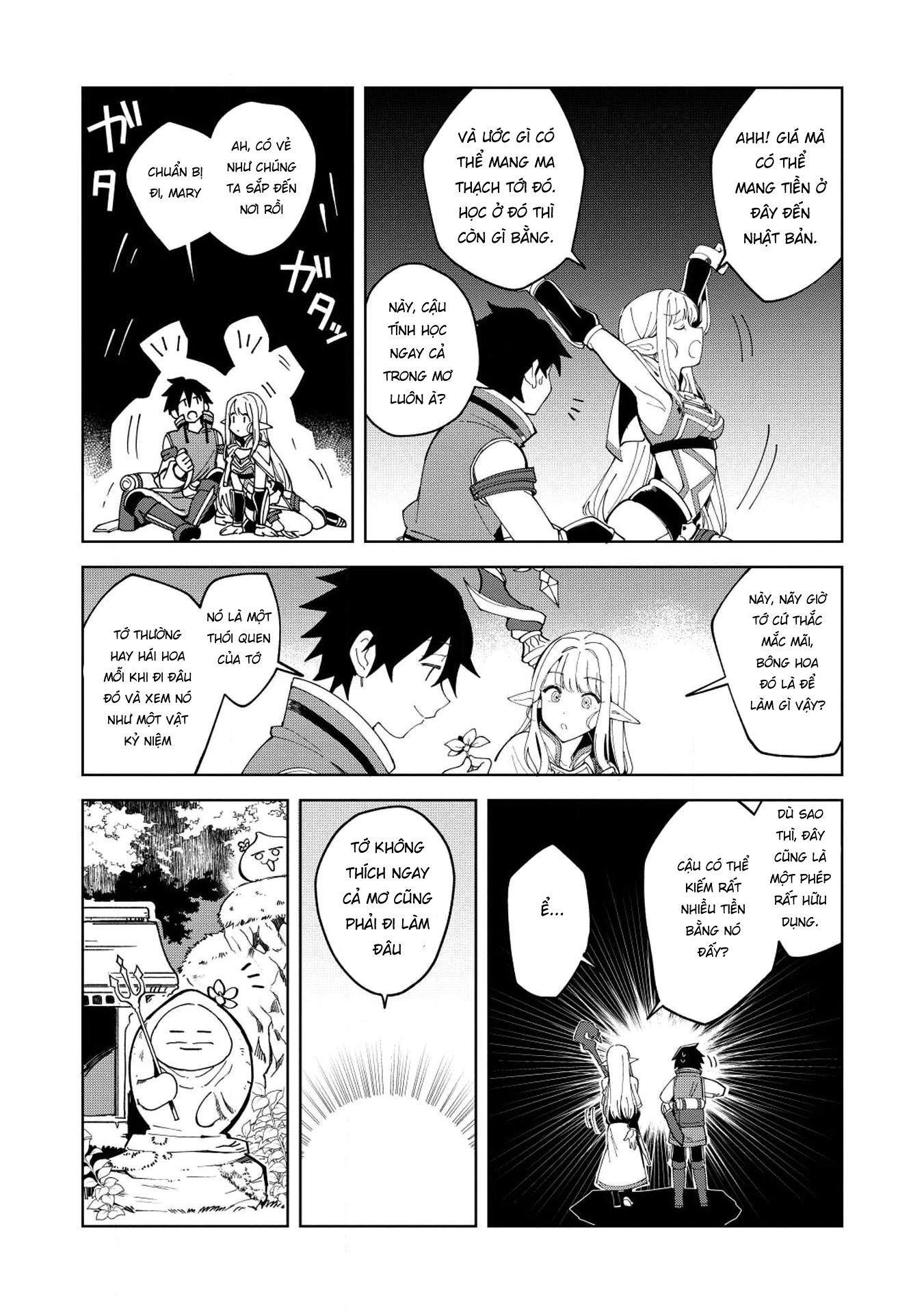 Xuyên Không Mang Elf Về Nhà Chapter 7